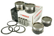 Forged Pistons Kit Wiseco 4 Cyl Fits Honda Civic Sohc 92+ D16z6 / D16y7 Bore 2.9