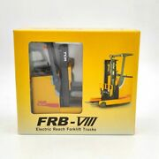 120 Diecast Tcm Frb-viii Frb-8 Electric Reach Forklift Truck Model Collection