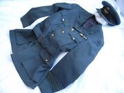 Rare Early Wwii Battle Of Britain 1939 Raf Officers Tunic And Peaked Cap.