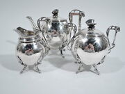 Ball Black / Wendt Tea Set - Antique Aesthetic - American Sterling Silver