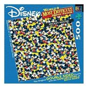 Buffalo Games World's Most Difficult Jigsaw Puzzle, Disney's Mickey Mouse New