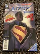 Action Comics 9 New 52 1st Cover And 2nd Full App Calvin Ellis Superman Combo