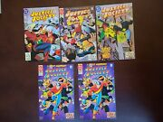 5 Book Lot Justice Society Of America 5 8 9 10 Run Lot 5-10 Vf/nm 2nd Series 92
