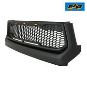 Eag Replacement Grille Grill Upper Black Packaged Fit 14-21 Toyota Tundra