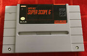 Super Scope 6 Super Nintendo Entertainment System 1992 Snes Game Cart Only