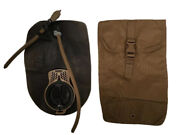 Usmc Coyote Filbe Hydration Pouch And 3l Camelbak Bladder Tan / Gc To Vgc