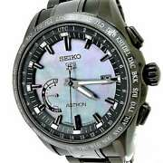 Free Shipping Pre-owned Seiko Astron Sbxb091 8x22-0af0-2 Limited Gps Solar
