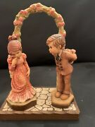 Anri Young Man's Fancy And Romantic Notions Club Collectible Valentine + Display