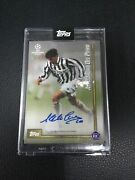 Topps Uefa Alessandro Del Piero The Lost Rookie Card Rc Autograph /49 Auto Italy