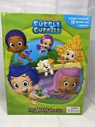 Bubble Guppies Nickelodeon My Busy Books New 12 Figures Playmat Book New 2016
