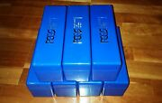 7 Empty Pcgs Blue Boxes - Nice Condition