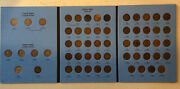 P D S Flying Eagle Indian Head Penny Cent Us Coins Complete Set Whitman 1877
