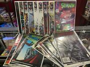 19 Spawn Comics Including 1, Newstand And Direct, Curse, Batman | Low-high Grade