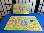 Vintage 1989my Little Pony To Castle Jigsaw Puzzle 100 Pieces Missing 1 Piece