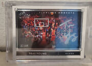 2019-20 Panini One And One Trae Young Timeless Moments Auto Silver /49