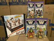Wwe Motu Wave 5 Becky Lynchmacho Manrowdy Piperricky Steamboat And Ss Raw Ring