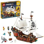 New Lego Creator 3in1 Pirate Ship 31109 From Japan