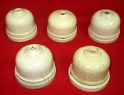 Antique Ceramic Electric Holder Vitreous British Made Vintage Collectible Lot 5