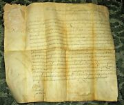 1790 Land Sale - Signed By Thomas Mifflin Signer Of United States Constitution