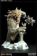 - Rare - Sideshow Lord Of The Rings Snow Troll Polystone Statue
