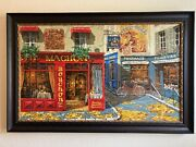 Viktor Shvaiko - Autumn In Paris Sold Out Lavishly Embellished And Hand Signed
