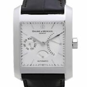 Free Shipping Pre-owned Baume And Mercier Hampton Classic Xl Limited Moa08757