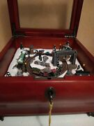 Mr Christmas Electric Music Box With Train