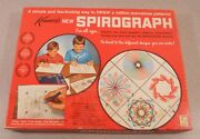 Vintage 1967 Kenner Spirograph 401 Drawing Set With Pens