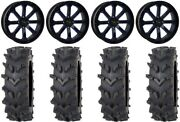 System 3 St-4 20 Wheels Blue 35 Outback Maxand039d Tires Rzr Xp 1000 / Pro Xp