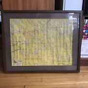 Boy Scout Bsa W.a. Fisher Co Superior Quetico Canoe Map Moose Knife Insula Lakes