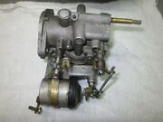 Johnson Evinrude 25 Hp 385815 Carburetor And Choke Assy. 1973 Thru 1976 Good Core