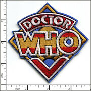 15 Pcs Embroidered Iron On Patches Doctor Who Tv Ahow Ap025db