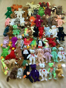 Ty Beanie Babies Collection 134 Items Ultra Rare New + More Investment Quality