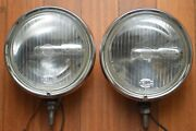 Vintage 70and039s Hella 140 Fog Spot Driving Lights Porsche 911 912 Mercedes Bmw Vw