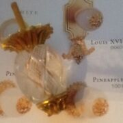 New Vintage Sherle Wagner Pineapple Cut Crystal Gold Cabinet Knob Screw And Bolt