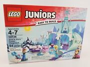 Lego Juniors Disney - Set 10736 - Anna And Elsaand039s Frozen Play - New And Sealed