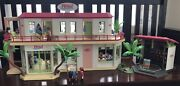 Playmobil Large Hotel 5265 With Add-ons Great Condition