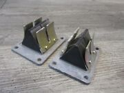 1979 79 Yamaha 440 Exciter Snowmobile Engine Reed Valves Cages Pedals