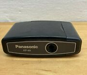 Vintage Panasonic Kp-4a 4 Battery Operated Pencil Sharpener Black Tested And Works