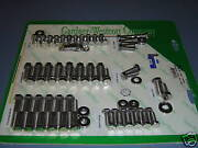 Ford Mustang 289 302 Engine Bolt Kit Polished Ss