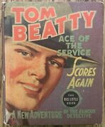Tom Beatty Ace Of The Service Scores Again Big Little Book Whitman1937