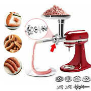 Food Grinder Attachment For Kitchenaid Stand Mixer Sausage Stuffer Accessory Us