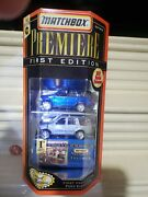Matchbox 1998 Premiere First Edition Ford Expedition First Production Set Nuboxd