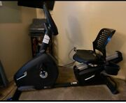 Nautilus R618 Recumbent Stationary Home Gym Cardio Cycling Workout Exercise Bike