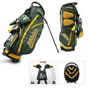Authentic Mlb Team Golf Oakland Athletics Stand Golf Bag - New In The Box