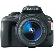 Canon Eos Rebel Sl1 With 18-55mm Is Stm Kit - 3 Touch Screen, Black Usa Version