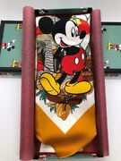 New Disney Collaboration Silk Mickey Mouse Scarf