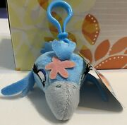Angry Birds Rio Blue Jewel Girl Backpack Plush Clips 3 Keychain