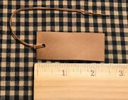 New 100 Primitive Coffee Stained 2-1/2 X 1 Antique Store Hang Tags Price