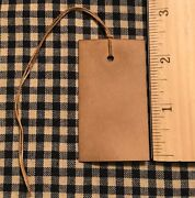 New 100 Primitive Coffee Stained 2-1/2 X 1-1/2 Antique Store Hang Tags Price